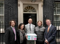 Rogue Mag Surf - Historic event for UK surfing as SAS visit 10 Downing Street