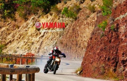 Rogue Mag motorsport - Motorcycle drifting with Yamaha