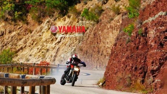 Rogue Mag motorsport - Motorcycle drifting with Yamaha