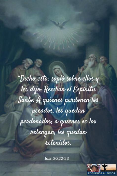 reciban el Espíritu Santo