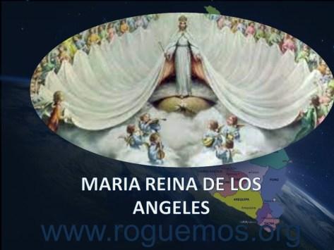 María Reina de los ángeles