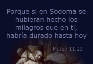 el día del juicio – Mateo 11,20-24