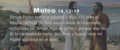 el Hijo de Dios vivo – Mateo 16,13-19