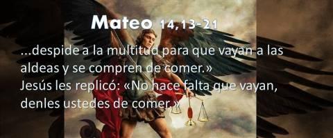denles ustedes de comer – Mateo 14,13-21