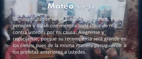 Alégrense y regocíjense – Mateo 5,1-12
