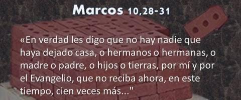 Marcos 10,28-31 – cien veces más
