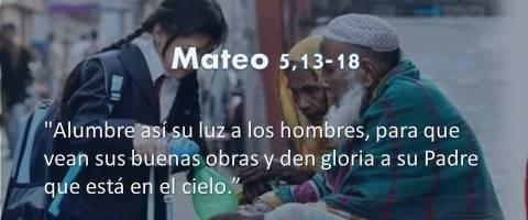 Mateo 5,13-18 – que vean sus buenas obras