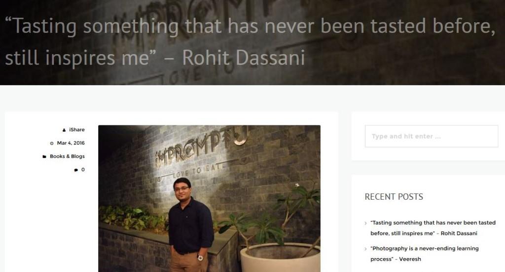 Rohit Dassani - IndShare.com