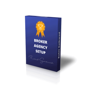 Broker Agency setup by Rohit Gaikwad