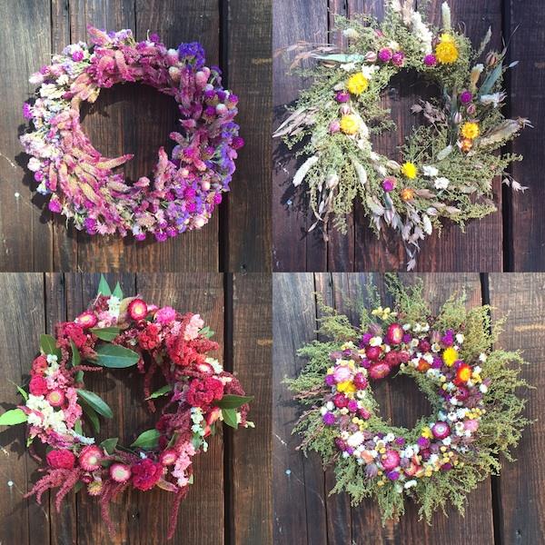 Full Belly Farm | Wreath Workshop
