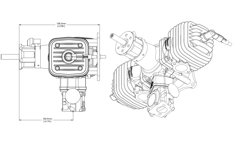 Motor Da 120 Roi Import