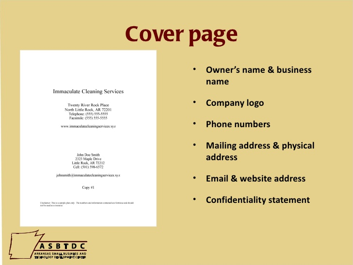 how to write business plan cover page for investors roiinvesting com