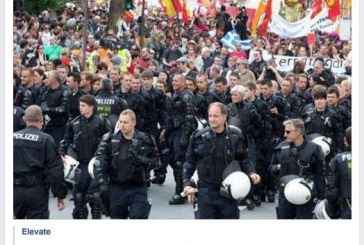 The German Police March Against The ECB Hoax!