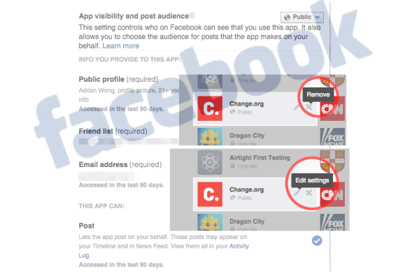 How To Stop Facebook Apps Posting To Your Facebook Wall