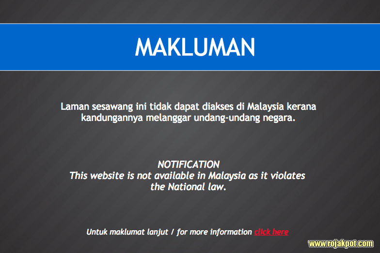 The MCMC blocked access to Sarawak Report until the 1MDB special task force concludes its investigations