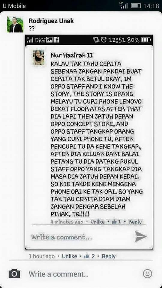 Nur Hazirah reveals what really happened
