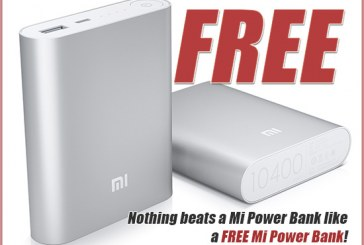 Want A Free 10400 mAh Mi Power Bank?