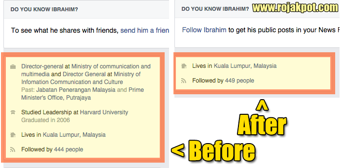 Ibrahim Abdul Rahman deletes his Facebook posts