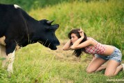DNA In Cow's Milk Makes Children Hot-Tempered Hoax!