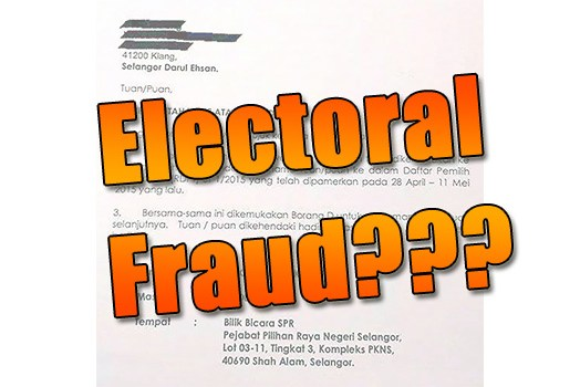 Electoral Fraud Through The Electoral Roll Challenge?