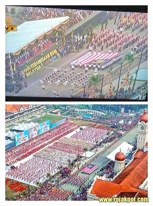Was The Malaysian Flag Displayed Wrongly During The Merdeka Parade?