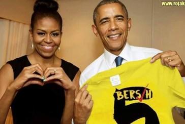 Did Michelle & Barack Obama Support Bersih 4 & 5?