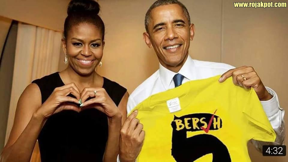 Michelle & Barack Obama Support Bersih 4 & 5