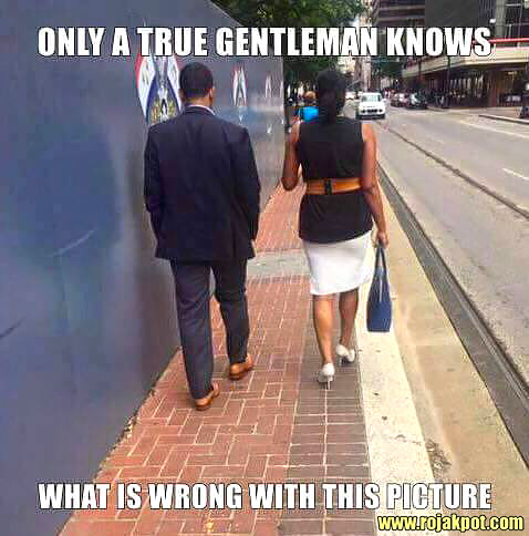 Only A True Gentleman Knows What Is Wrong