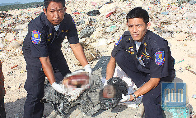 Dismembered fetus found in Pattaya