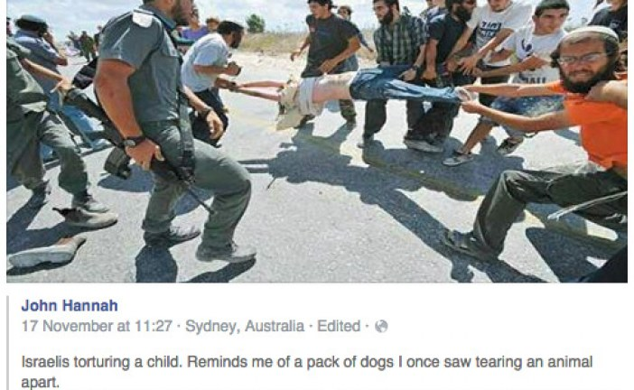 Watch These Israelis Tear A Palestinian Child Apart