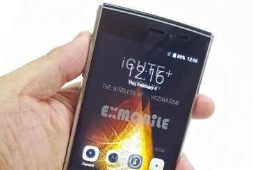 EXMobile iCute Plus Smartphone Unboxing & Quick Look