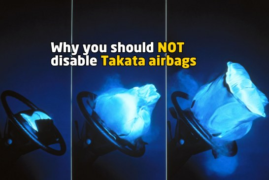 How To Disable Takata Airbags, And Why You Should NOT Do It!