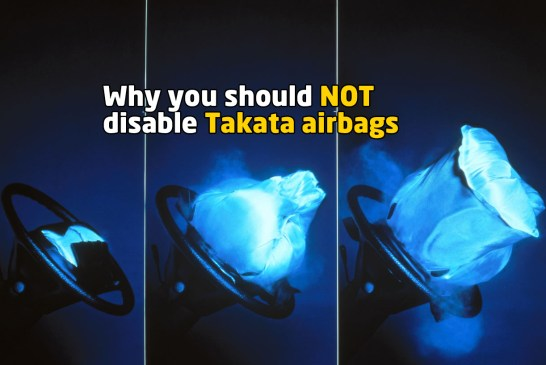 How To Disable Takata Airbags + Why You Should NOT Do It!