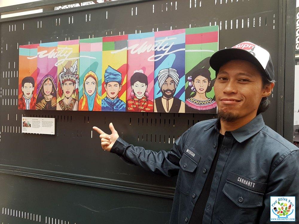 Malaysian artists - Nazri Amran (Dmojo)