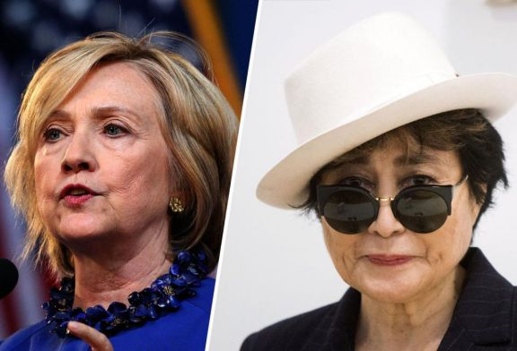 The Hillary Clinton Affair With Yoko Ono Debunked!