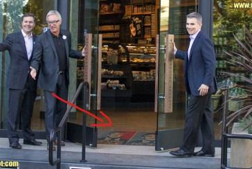 No, Starbucks Did NOT Place Trump's Photo On Floor
