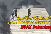 Another Esplanade of the Mosques Hoax Debunked!