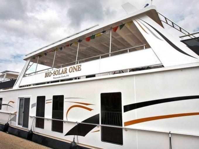 Al Gore Bio-Solar One houseboat