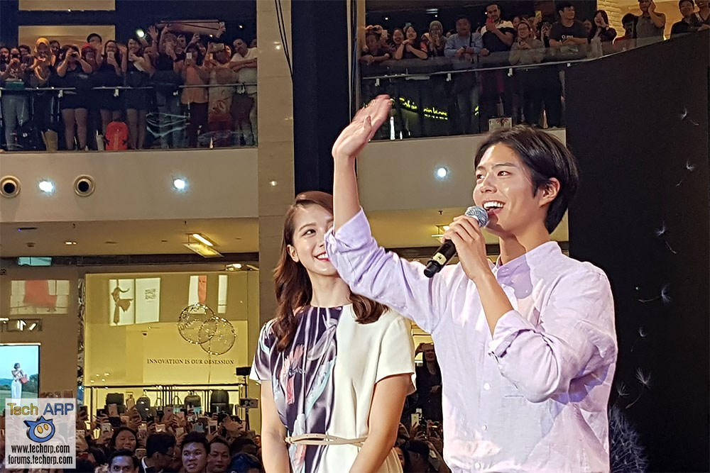 Watch Park Bo-Gum LIVE @ Galaxy S9 Launch In Malaysia!