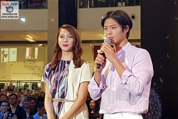 Park Bo-Gum LIVE @ Galaxy S9 Launch In Malaysia!