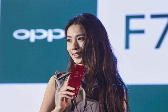 Hebe Tien + Neelofa @ The OPPO F7 Launch!