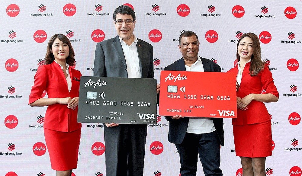 Get FREE Flights With The AirAsia Hong Leong Bank Credit Cards!