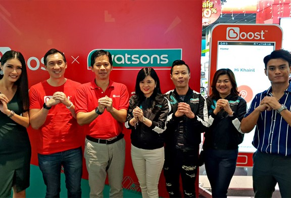 Watsons Accepts Boost e-Wallet For Cashless Payments!