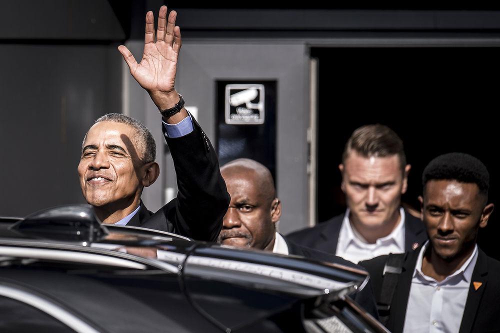 Former US President Barack Obama in Kolding, Denmark (December 2018)
