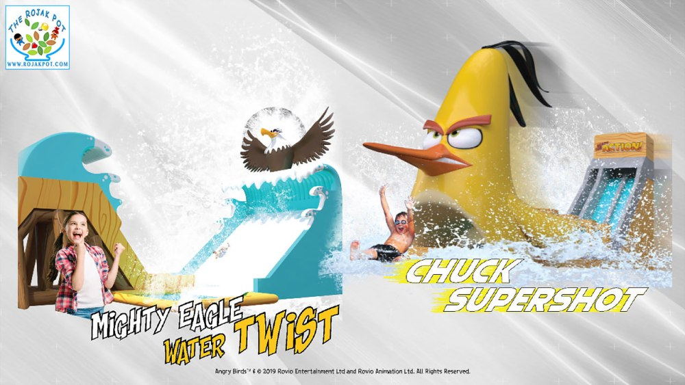 Angry Birds Splash Water World Chuck Supershot