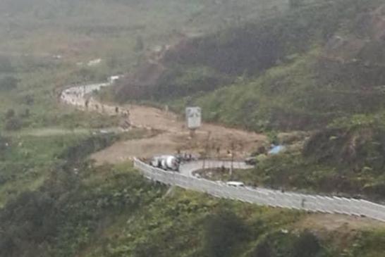 Nov 2019 Genting Highlands Landslide aftermath 02