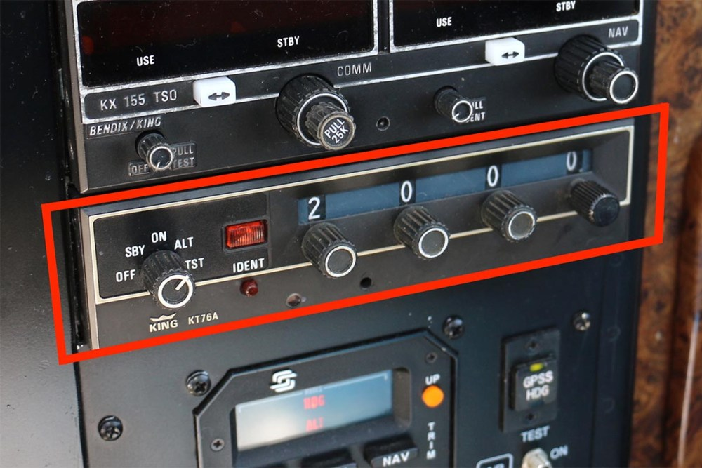 Airline transponder