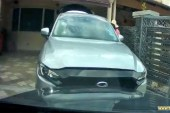 Robbers Rammed Couple After Getting Caught In The Act!