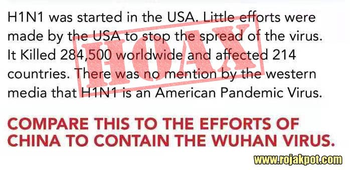 H1N1 Started In The USA Hoax
