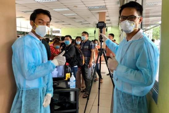 Malaysia COVID-19 health officers